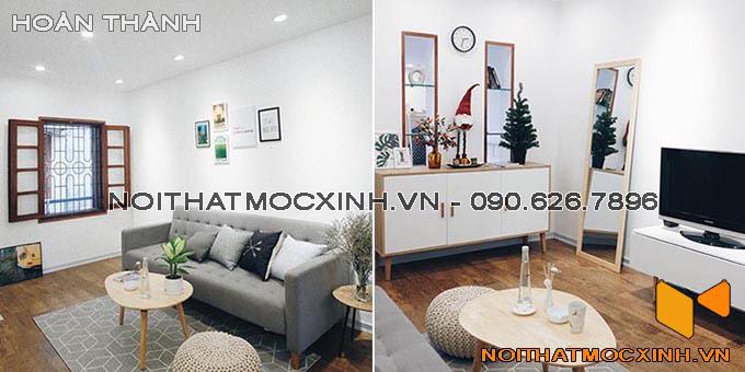 cải tạo căn hộ nhỏ tại Hà Nội