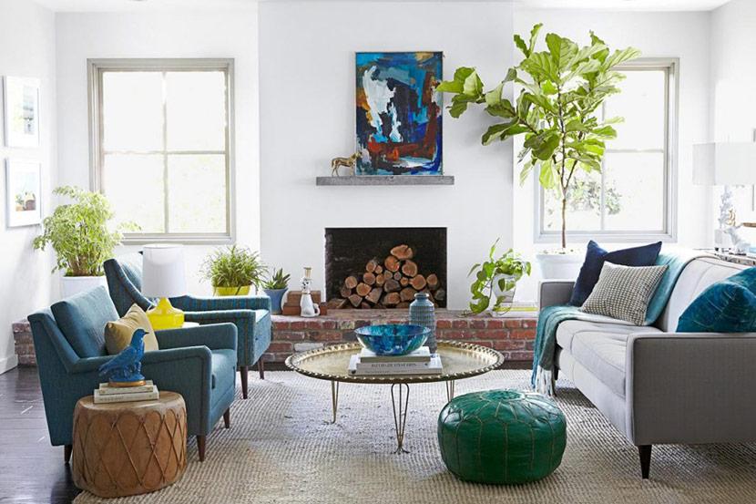 cây xanh trong căn hộ