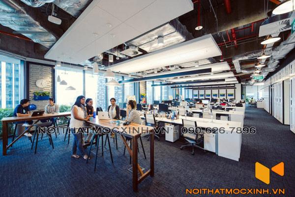 không gian làm việc chung