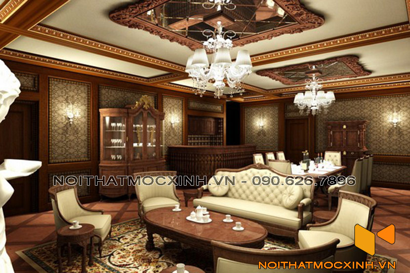nội thất phong cách cổ điển