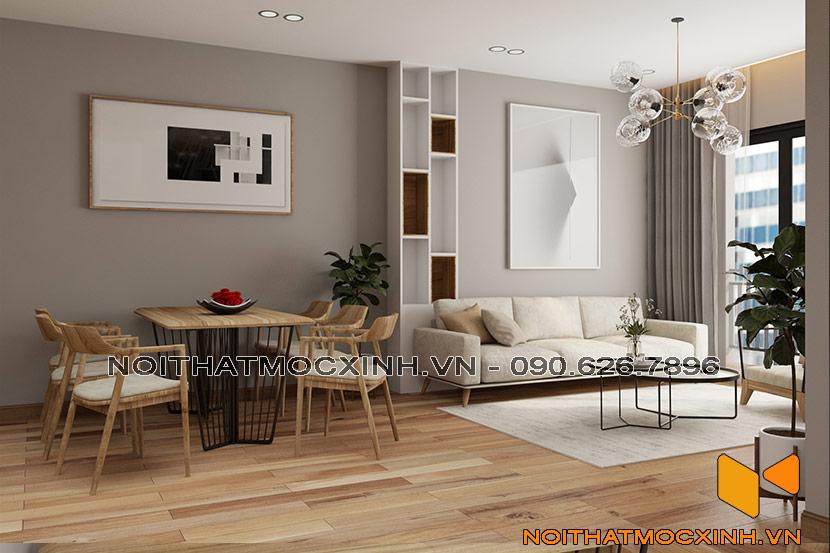 nội thất phòng khách eco green 02