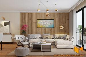 nội thất phòng khách eco lake view Đại Từ