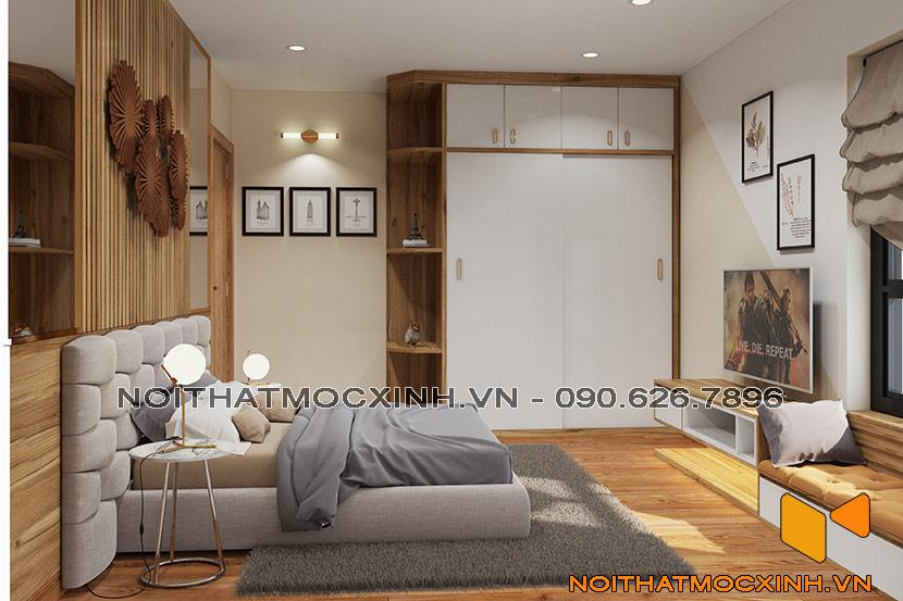 nội thất phòng ngủ eco lake view Đại Từ 01