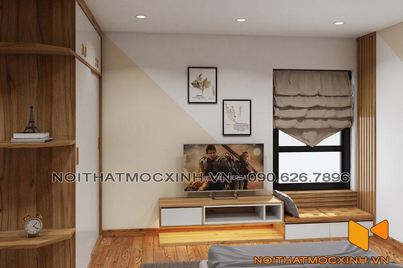 nội thất phòng ngủ eco lake view đại từ 02
