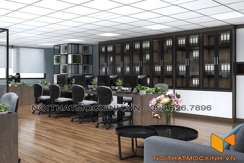 nội thất văn phòng cty mdc company 01