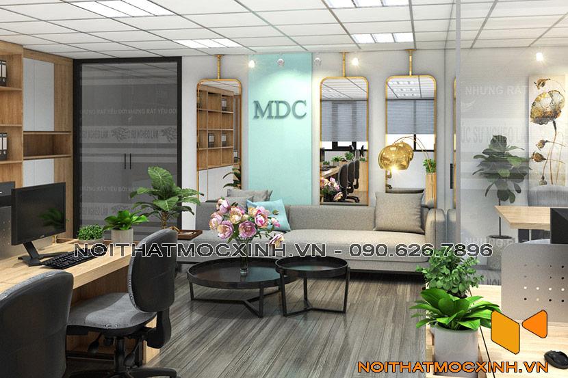 nội thất văn phòng cty mdc company 04