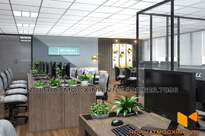 nội thất văn phòng cty mdc company
