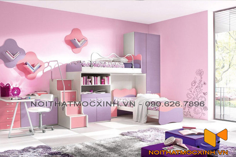 phòng bé gái