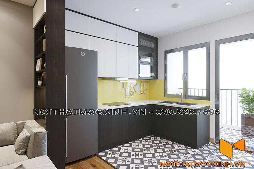 phòng bếp chung cư CT2A Thạch Bàn 01
