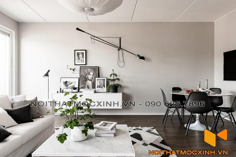 phong cách nội thất hiện đại châu âu