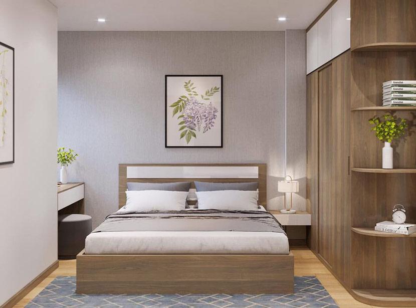 phòng ngủ chung cư gelexia tam trinh