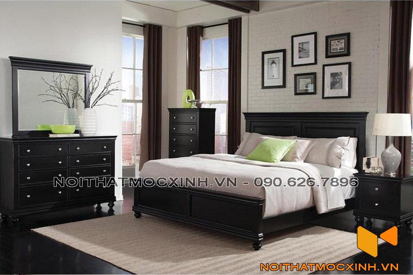 phòng ngủ đồ cổ điển