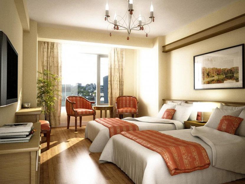 phong ngủ đôi khách sạn 01