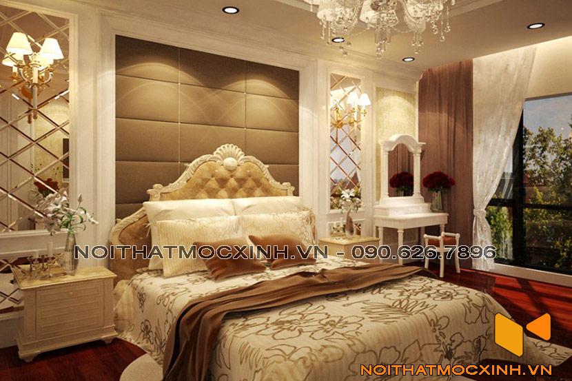 phòng ngủ tân cổ đẹp
