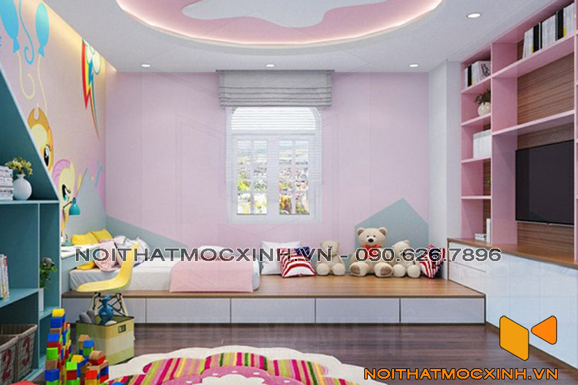 phòng ngủ trẻ em cá tính