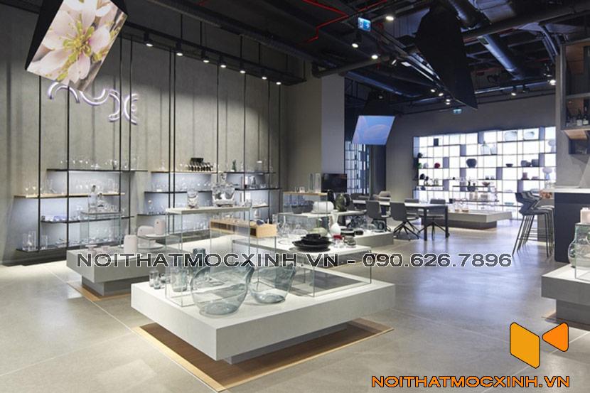 showroom đồ pha lê tại Hà Nội
