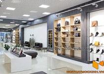 thi công nội thất shop giày tại Hà Nội