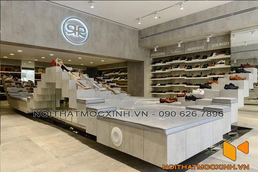 thi công shop giày tại Hà Nội