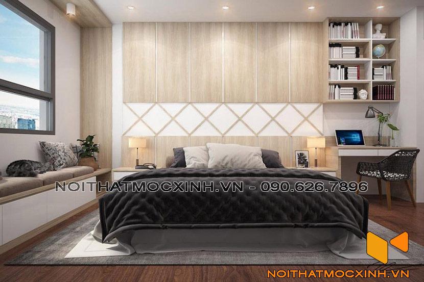 thiết kế nội thất phòng ngủ hiện đại tinh tế