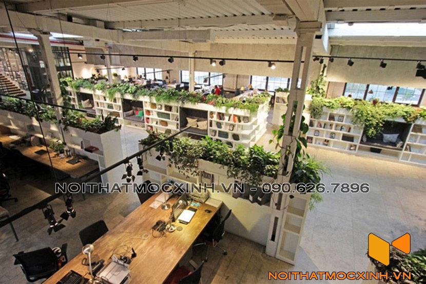 văn phòng cây xanh