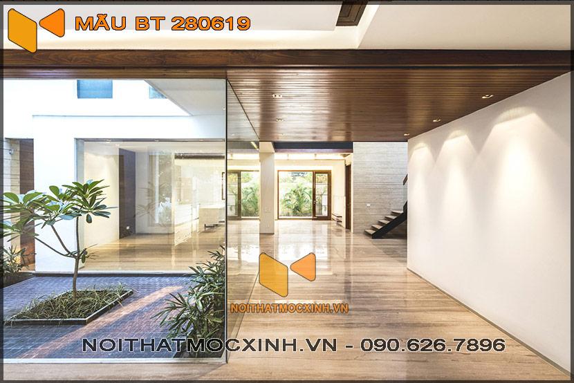 biệt thự 2 tầng hiện đại 14mx30m 280619 11