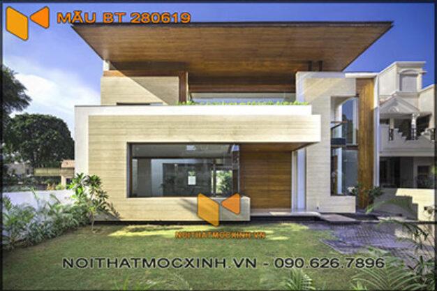 biệt thự 2 tầng hiện đại 14mx30m 280619