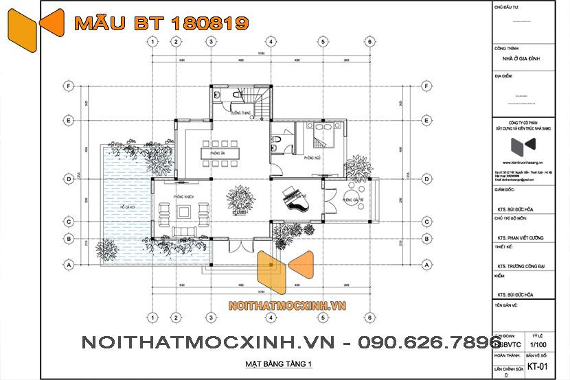 biệt thự mái thái 3 tầng Quang Hải 06