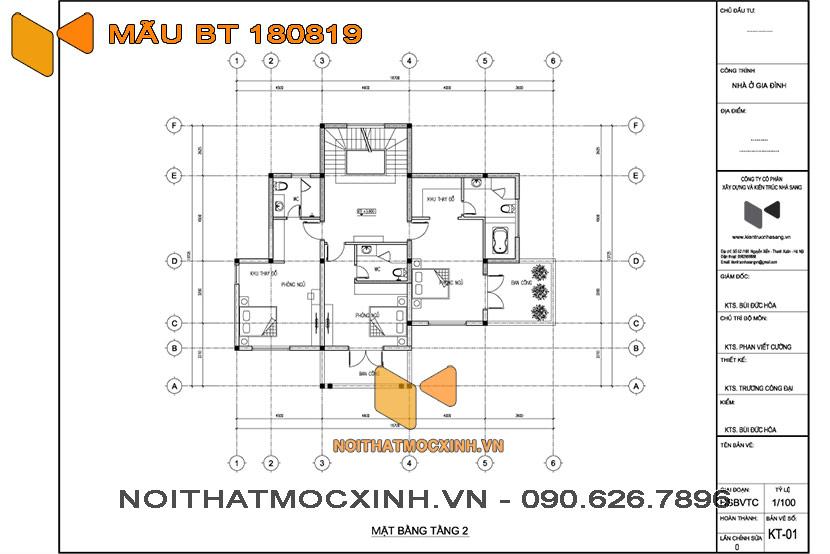 biệt thự mái thái 3 tầng Quang Hải 07