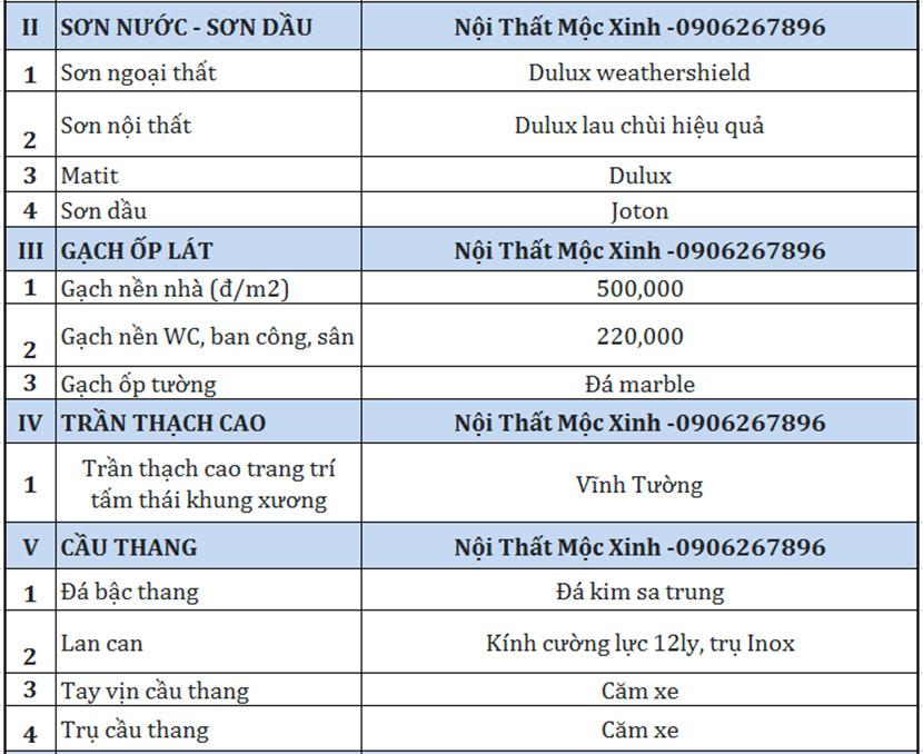 biệt thự mái thái 3 tầng Quang Hải 10