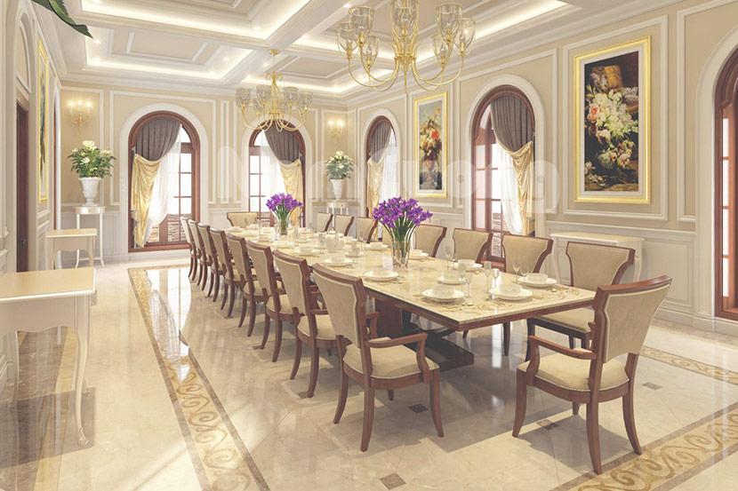 biệt thự mái thái 3 tầng Quang Hải 14