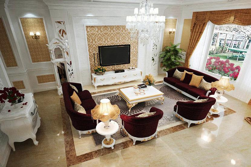 biệt thự mái thái 3 tầng Quang Hải 15