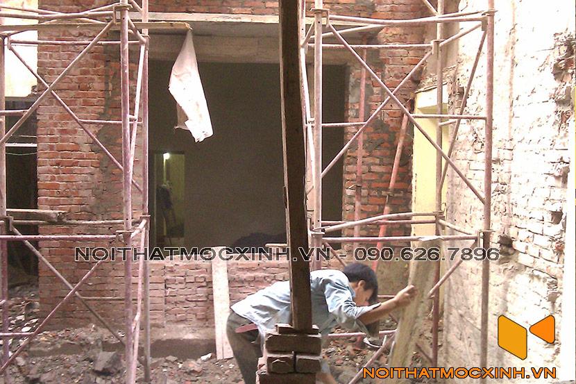 cải tạo nhà phố cũ 05