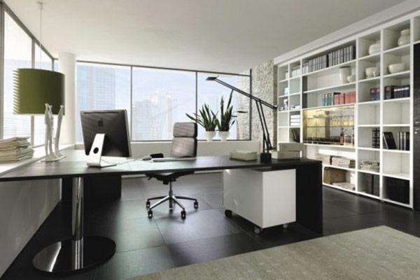 hoàn thiện nhà xây thô thành văn phòng 08