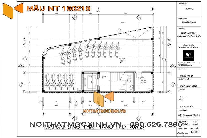 nhà trọ 4 tầng có thang máy NT 160218 01