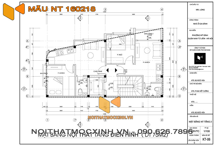 nhà trọ 4 tầng có thang máy NT 160218 02