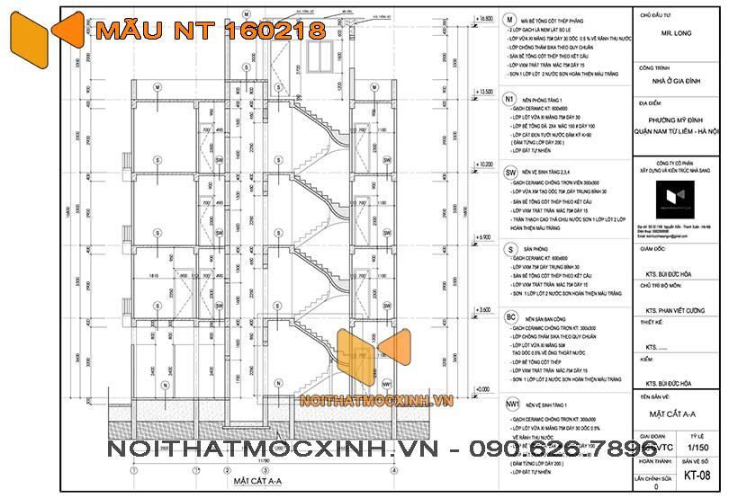 nhà trọ 4 tầng có thang máy NT 160218 03