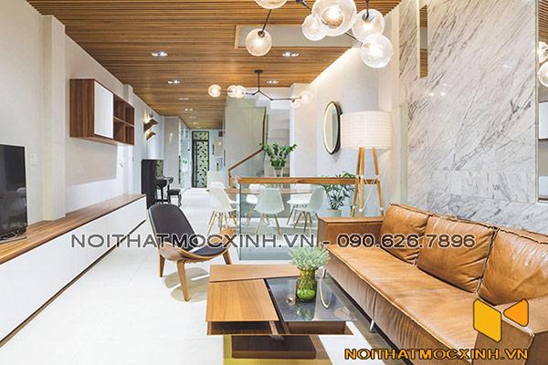 nội thất nhà phố hiện đại 04