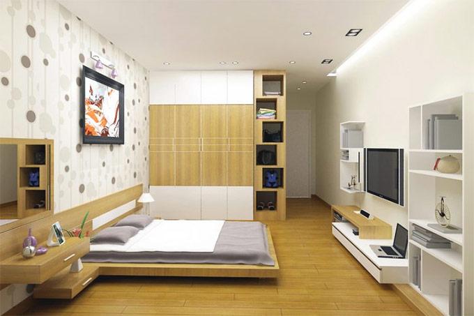 thiết kế nội thất nhà phố hiện đại 02