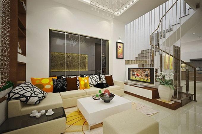 thiết kế nội thất nhà phố hiện đại 05