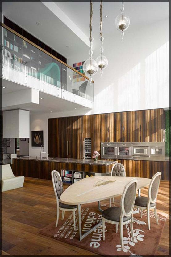 thiết kế thi công nội thất biệt thự đẹp hiện đại 05