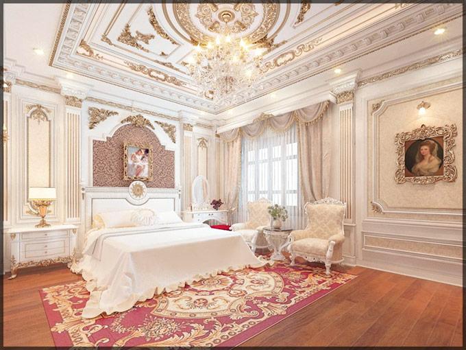 thiết kế thi công nội thất biệt thự tân cổ điển 03