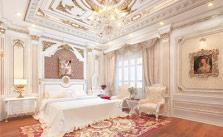 thiết kế thi công nội thất biệt thự tân cổ điển 04