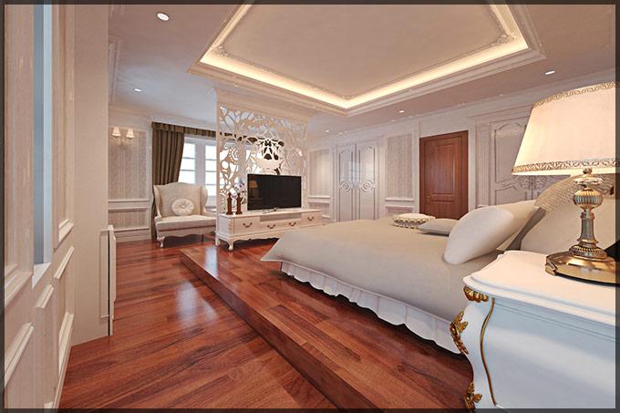 thiết kế thi công nội thất biệt thự tân cổ điển 06