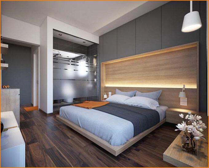 thiết kế thi công nội thất nhà phố nhỏ hiện đại 02