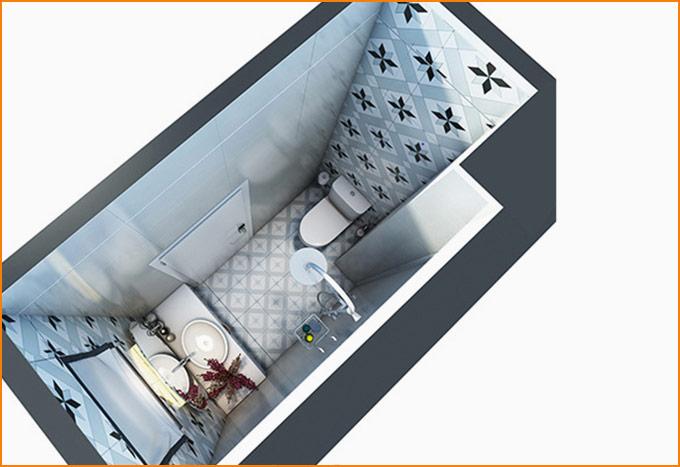thiết kế thi công nội thất nhà phố nhỏ hiện đại 03