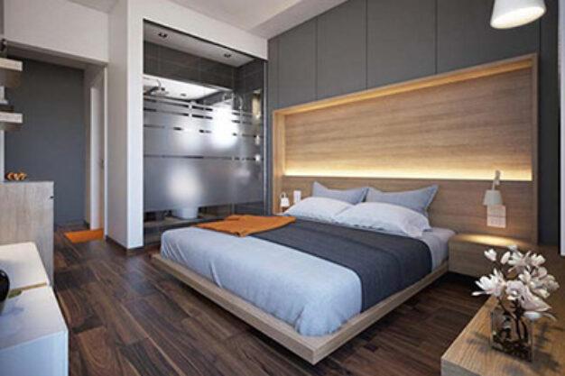 thiết kế thi công nội thất nhà phố nhỏ hiện đại 06