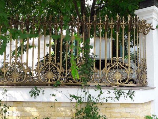10 mẫu cổng hàng rào sắt hộp đẹp đơn giản 2019 10