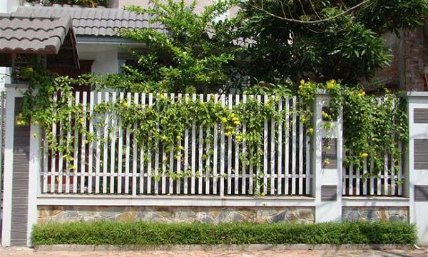 10 mẫu cổng hàng rào sắt hộp đẹp đơn giản 2019 2
