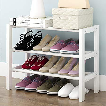 Tủ giày nhỏ gọn gỗ tự nhiên