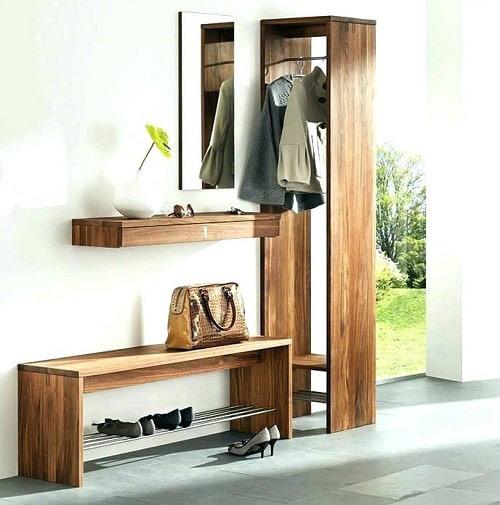 Tủ giày thông minh màu vân gỗ